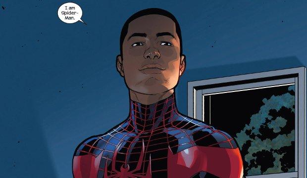 Der neue Spider-Man bekennt Farbe