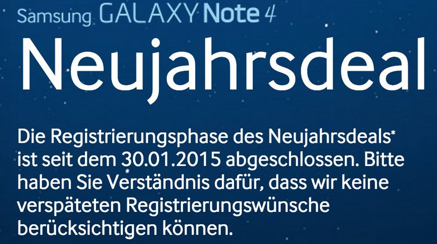 Samsung-Galaxy-note-4-deal-ende