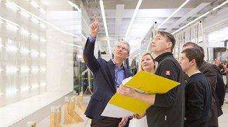 Tim Cook auf Deutschlandreise: Glas für Apple Campus 2