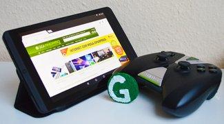 NVIDIA Shield Tablet im Test: Android-Tablet mit Spiele-Fokus