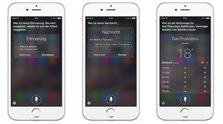 iOS 8.3 mit verbesserter Siri-Stimme