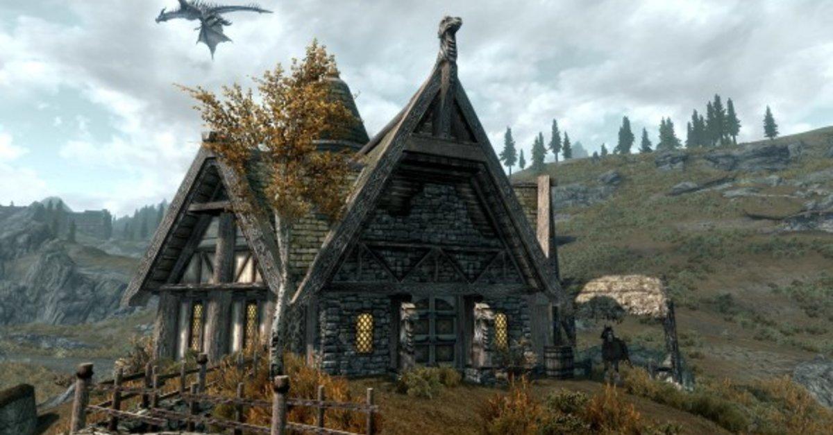 Skyrim Haus Bauen