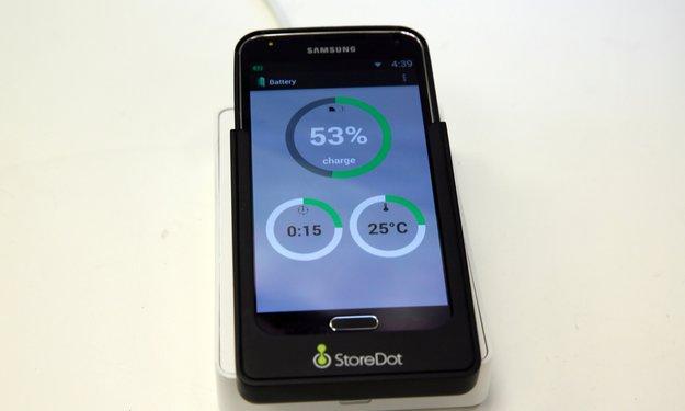 StoreDot: Smartphone-Akkus in Sekundenschnelle aufladen – ab 2016 Realität