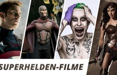 Superhelden-Filme: Die Liste...