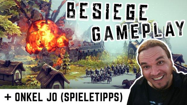 GIGA Gameplay: Besiege - Verrücktes Schlachtfeld (mit Onkel Jo von Spieletipps)