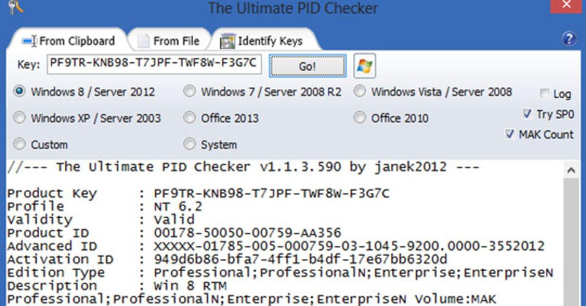 windows 7 product key prüfen