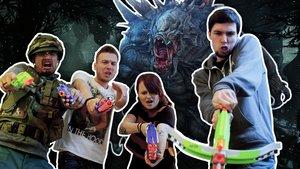 Evolve: Monster-Mobbing in der GIGA Redaktion