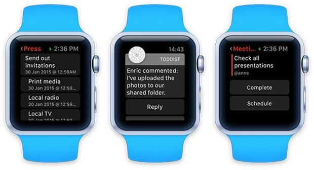 Apple Watch: Erster Blick auf Todoist für Apples Smartwatch