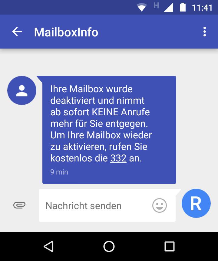Mailbox Aldi Talk Deaktivieren