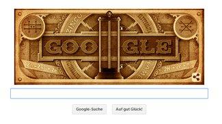 Alessandro Volta: Volle Power bei Google - Doodle zum 270. Geburtstag für den Erfinder der Batterie