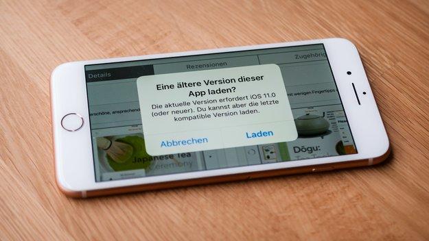 Alte App-Version auf iPhone und iPad installieren, so gehts