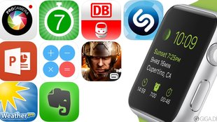 20 Apps für die Apple Watch