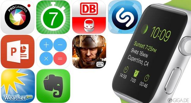 20 Apps für die Apple Watch