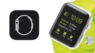 Apple Watch Companion-App für iPhone (iOS 8.2)