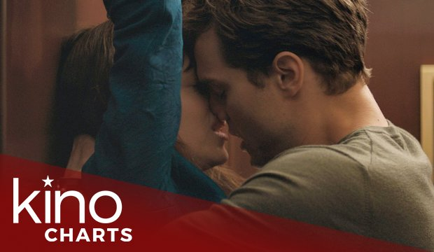 Kinocharts: Fifty Shades of Grey bleibt knapp an der Spitze
