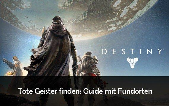 Destiny: Tote Geister finden und Grimoire-Punkte erhalten (Update: Rise of Iron)