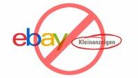 eBay Kleinanzeigen: Account löschen – so geht's