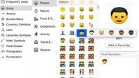 iOS 8.3 und OS X 10.10.3: Neue Beta bringt Emojis mit verschiedenen Hautfarben