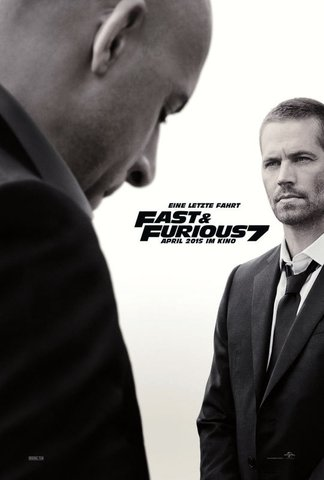 fast and the furious 7 poster