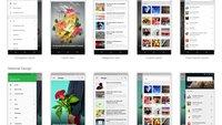 Feedly: Offizielles Material Design-Mockup zeigt Zukunft des RSS-Readers