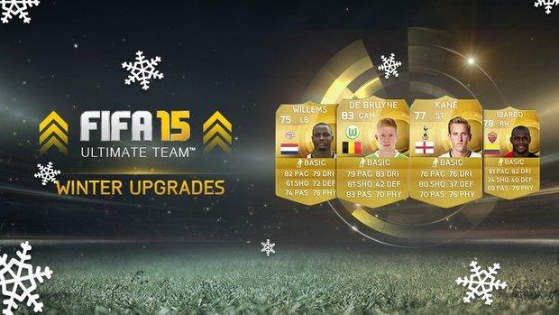 FIFA 15 Ultimate Team: Winter Upgrades sind da - Liste der Aufwertungen