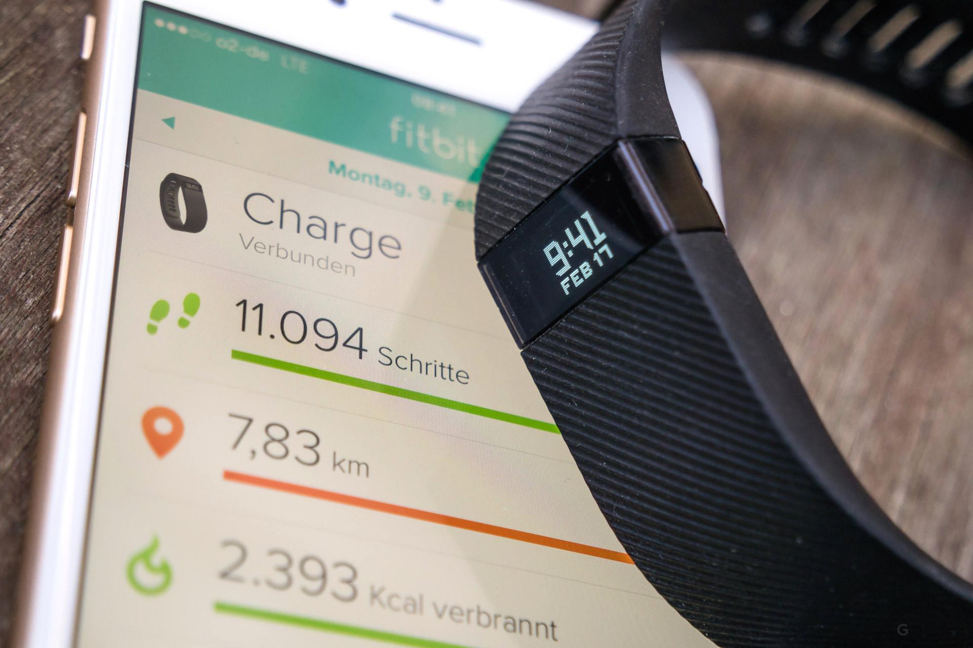 Fitbit Aktivitätstracker Charge Hr App : Fitbit charge im test ein bisschen smartwatch im fitness armband