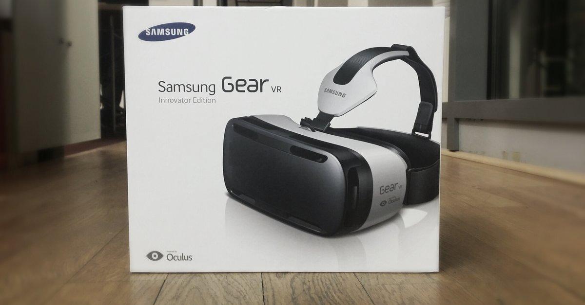 Samsung Gear Vr 3d Brille Fürs Galaxy Note 4 Im Unboxing Video Giga