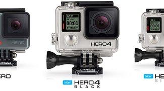 GoPro: Unterschiede zwischen den Kamera-Modellen