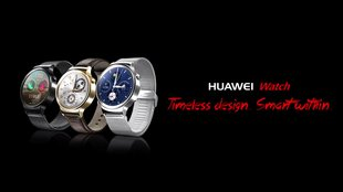 Huawei Watch: Werbung zeigt Android Wear-Smartwatch mit rundem Display [Update]