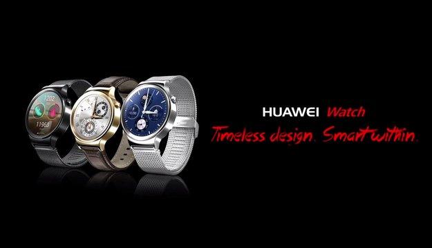 Huawei Watch: Werbung zeigt Android Wear-Smartwatch mit rundem Display [Update]