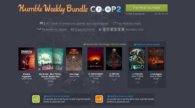 Humble Weekly Sale: Koop-Spieler an die Macht