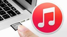 iTunes-Mediathek auf SD-Karte auslagern - so geht's