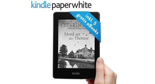 Amazon Kindle Paperwhite 30 Tage unverbindlich testen und 5 E-Books gratis erhalten