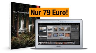 Aperture-Alternative Photoshop Lightroom für nur 79 Euro im Hardware-Bundle bei Amazon
