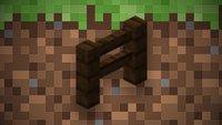 Minecraft: Zaun und Tor craften - So klappt es