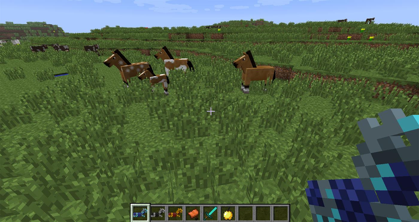 pferde minecraft paaren