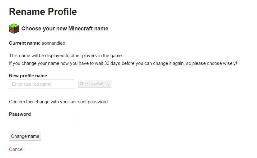 Minecraft Namen ändern Coole SpielerNamen Finden GIGA - Minecraft coole spiele