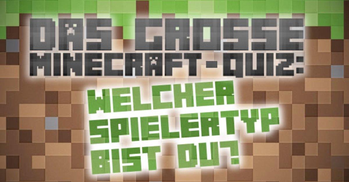 Das große Minecraft-Quiz: Welcher Spieler-Typ bist du? – GIGA