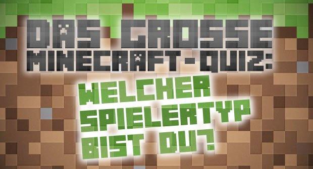 Das Große MinecraftQuiz Welcher SpielerTyp Bist Du GIGA - Minecraft quiz spiel