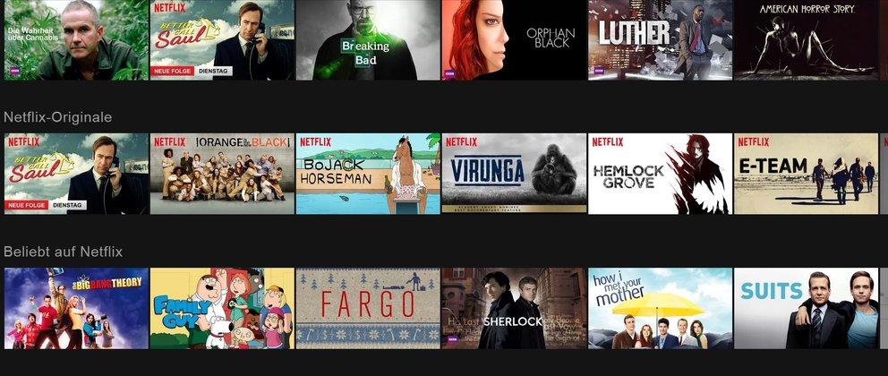 Netflix Angebot Serien
