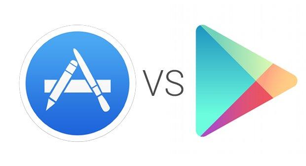 App Store vs. Play Store: Deutlich mehr Android-Downloads, deutlich mehr iOS-Umsatz
