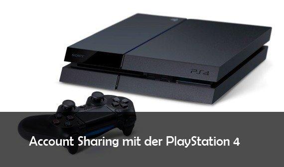PS4 Account Sharing: Spiele mit Freunden teilen
