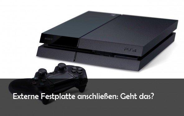 PS4: externe Festplatte anschließen - das sollte man bei Filmen und Spielen beachten