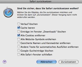 Safari: Cache löschen und leeren – so geht's am Mac, bei ...