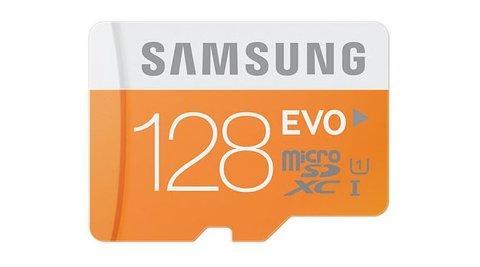 sd karte samsung News zu Samsung EVO 128 GB Micro SD Karte: Robuster Speicher für