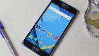 Samsung Galaxy A5 (2015) im Test: Eleganter Einsteiger