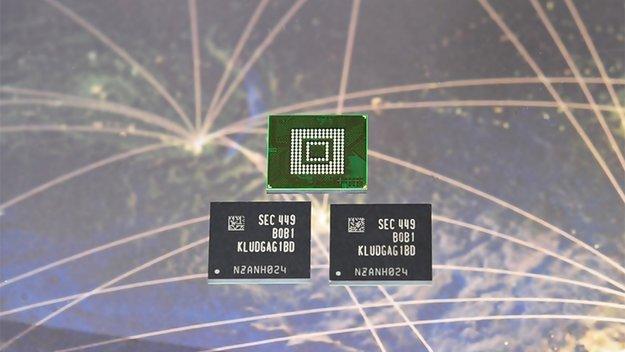 Samsung stellt 128 GB High End-Speicherchips vor – vielleicht für Galaxy S6