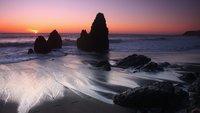Wallpaper der Woche: Strandstimmung im Sonnenuntergang [Download]