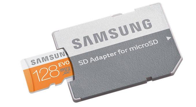 Sd Karte Micro.Samsung Evo 128 Gb Micro Sd Karte Robuster Speicher Fur