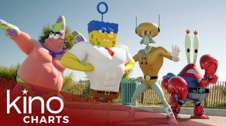 Kinocharts: Spongebob stößt American Sniper endlich vom Thron!